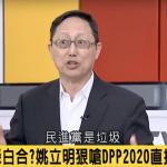 連嗆2次「民進黨是垃圾」 姚立明:2020直接讓出政權