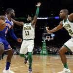 NBA》綠衫軍大勝尼克復仇成功 不料厄文傷到右肩退場
