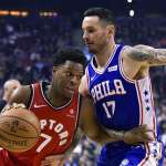 NBA》洛瑞有強隊恐慌症? 暴龍打公鹿居然得分掛蛋!