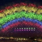 義大世界999秒煙火秀 3D矩陣與彩虹童玩閃耀夜空