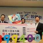 新北人口突破399萬4千人 gogoro機車、大阪機票雙獎齊發