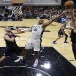NBA》馬刺艾德里奇27分擊沉快艇 黑衫軍近期靠防守4連勝