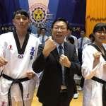 第十五屆總統盃跆拳道錦標賽在輔英科大開幕