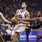 NBA》國王末節狂追一場空 勇士5分之差險勝