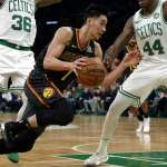 NBA》林書豪傷癒復出也幫不了 老鷹遭綠衫軍痛宰