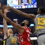 NBA》哈登連兩戰大三元率隊斬灰熊 一項紀錄超越喬丹、詹姆斯