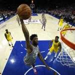 NBA》安比德40分21籃板超狂表現 76人仍吞二連敗