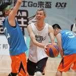 籃球》富邦人壽「不老勇士GO來盃」 傳奇國手許智超、曾增球秀球技