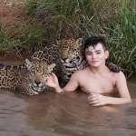 男孩與美洲豹玩耍照片竄紅網絡引發深思