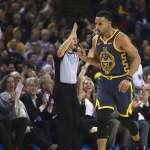 NBA》柯瑞達成生涯15000分里程 勇士隊史第5人