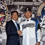棒球》王柏融背號99正式挑戰日本職棒 火腿鬥士球團高規格對待