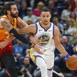 NBA》第2名之間的對決 勇士命中率太低敗給爵士