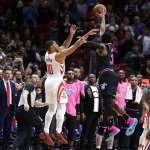 NBA》保羅傷退哈登孤掌難鳴 熱火兩分差燒毀火箭