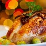 2018年英國耶誕節餐桌的三道主菜:烤火雞、耶誕布丁和「脫歐 」
