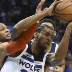 NBA》威金斯超前飛身上籃 灰狼擊敗西區龍頭雷霆