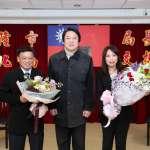 陳靜萍升任基隆文化局長 林右昌期許規劃國際級圖書館及展演空間