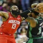 NBA》火箭惹到裁判連領3次技術犯規 所幸哈登45分趕跑綠衫軍