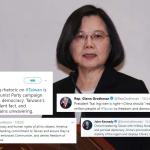 「台灣是獨立國家」中國出言恫嚇 美國會議員聲援台灣