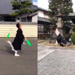 日本和尚「穿僧服開車」被罰!惹眾同袍PO雜耍、後空翻影片抗議:我穿長袍還能這樣呢!