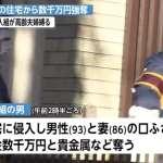 綑綁93歲老翁、搜刮寶石現金 東京蒙面3人組搶走兩千萬日幣在逃
