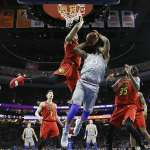 NBA》林書豪末節黃金助攻 老鷹爆冷勝76人