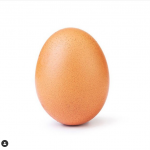 IG史上最多讚的貼文換人啦!這顆「謎之蛋」10天就衝破世界紀錄,得讚數竟比台灣人口多…