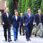新內閣首次院會 侯友宜和鄭文燦手牽手:我們是老朋友