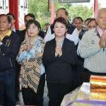 三百年福德祠「尾牙」 盧秀燕參拜祈求平安