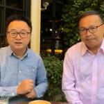 與羅文嘉同框直播 王義川:若被中國以「銀彈」箝制,台灣就危險了