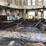 窗戶破裂、屍塊四散…菲律賓南部霍洛島天主教堂周日彌撒驚傳連環爆炸 至少20死、81傷