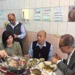 潘思亮領路 韓國瑜推廣在地美食走訪歷史建物