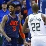 NBA》喬治36分帶領雷霆勝公鹿 字母哥讚:他可以做所有事情