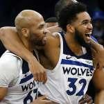 NBA》關鍵籃板加致勝跳投 唐斯率灰狼絕殺灰熊