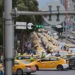 抗議Uber違法!3千小黃集結癱瘓忠孝西路 揚言下次前進總統府