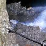 大里區立仁里水溝偷排廢水 中市府查獲排放工廠