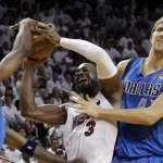 NBA》韋德明星賽現身 德佬退役前也參一腳