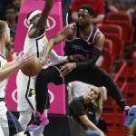 NBA》韋德飆21分無用 溜馬終止自歐拉迪波報銷後4連敗