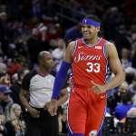 NBA》找到家的感覺  哈里斯5年1.8億美金續留76人