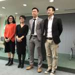 民進黨新發言人登場 李晏榕:希望明年選出的是總統,不是特首