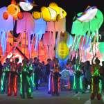 國際夢幻海洋歌劇與高空馬戲團 點亮台灣燈會