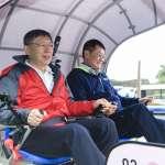 雙北論壇》與新北副市長同遊深澳鐵道 柯文哲騎完吐槽:如果是我,會設計椅子可以動