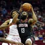 NBA》哈登58分率火箭突破熱火 本季3次50分10助攻比賽追平紀錄