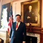 訪美高規格!拜會眾院議長辦公室 鄭文燦盼台灣民主不受威脅