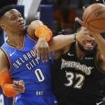NBA》守住敵隊核心有錯嗎? 威少對唐斯噴垃圾話仍吞敗