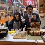 潘孟安快閃東京食品展 屏東農漁產估接3億元訂單