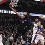 NBA》76人防守捅簍子 拉文致勝切入完成絕殺