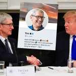 「非常感謝你的貢獻,提姆・蘋果」川普白宮致謝蘋果執行長,卻幫對方改姓超尷尬