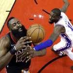 NBA》哈登連續40場25分+ 31分準大三元助火箭贏球