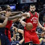 NBA》暴龍落後公鹿2場半 連霸第一種子成疑