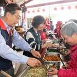 企業贊助把愛傳出去 樹林三多里首辦老人共餐